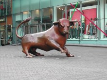 "Birmingham, The ""BULL"" at the Bullring Shopping Centre, West Midlands © Tom Courtney"