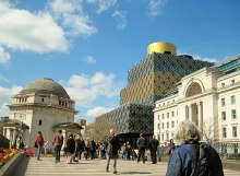 Birmingham, Hall of Memory and new Library, West Midlands © Tricia Neal