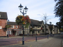 Solihull, town centre, Warwickshire © David Stowell