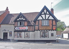 Bromsgrove, Ye Olde Black Cross, Worcester Copyright Chris Whippet